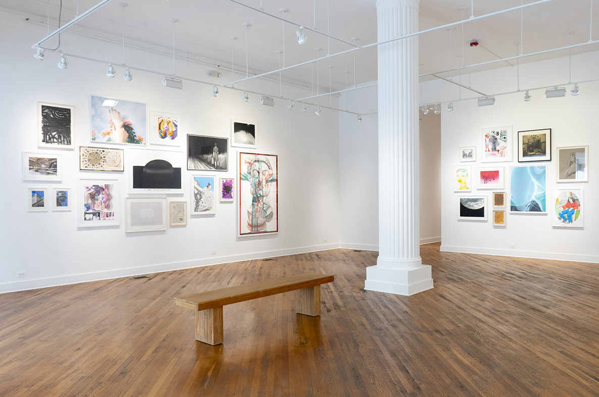 Installation photo of main gallery